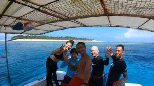 水納島でファンダイビング&体験ダイビング